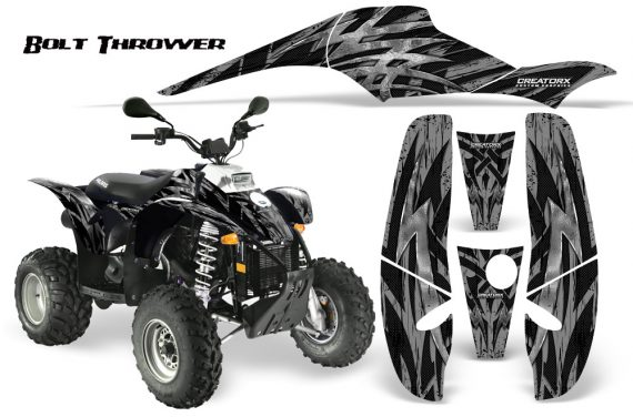 POLARIS Scrambler 500 Trailblazer 350 CreatorX Graphics Kit Bolt Thrower Silver 570x376 - Polaris Scrambler Trailblazer 1985-2009 Graphics