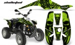 POLARIS Scrambler 500 Trailblazer 350 CreatorX Graphics Kit Skullcified Green Black 150x90 - Polaris Scrambler Trailblazer 1985-2009 Graphics