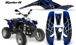 POLARIS Scrambler 500 Trailblazer 350 CreatorX Graphics Kit SpiderX Blue Black 150x90 - Polaris Scrambler Trailblazer 1985-2009 Graphics