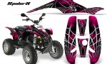 POLARIS Scrambler 500 Trailblazer 350 CreatorX Graphics Kit SpiderX Pink 150x90 - Polaris Scrambler Trailblazer 1985-2009 Graphics