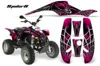 POLARIS-Scrambler-500-Trailblazer-350-CreatorX-Graphics-Kit-SpiderX-Pink