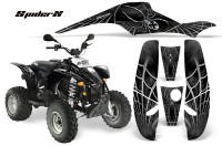 POLARIS-Scrambler-500-Trailblazer-350-CreatorX-Graphics-Kit-SpiderX-Silver