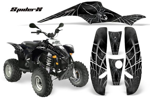 POLARIS Scrambler 500 Trailblazer 350 CreatorX Graphics Kit SpiderX Silver 570x376 - Polaris Scrambler Trailblazer 1985-2009 Graphics