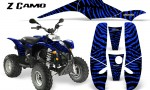 POLARIS Scrambler 500 Trailblazer 350 CreatorX Graphics Kit ZCamo Blue BB 150x90 - Polaris Scrambler Trailblazer 1985-2009 Graphics
