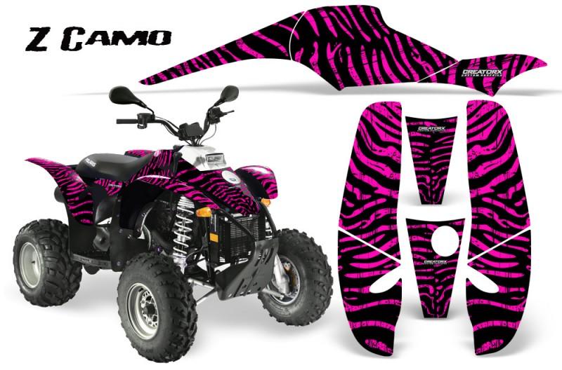 POLARIS-Scrambler-500-Trailblazer-350-CreatorX-Graphics-Kit-ZCamo-Pink