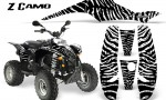 POLARIS Scrambler 500 Trailblazer 350 CreatorX Graphics Kit ZCamo White 150x90 - Polaris Scrambler Trailblazer 1985-2009 Graphics