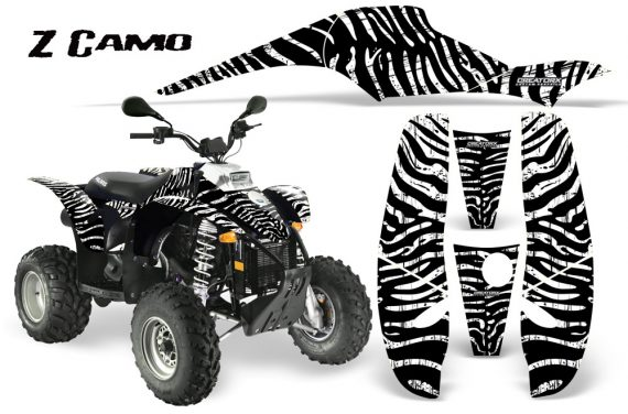 POLARIS Scrambler 500 Trailblazer 350 CreatorX Graphics Kit ZCamo White 570x376 - Polaris Scrambler Trailblazer 1985-2009 Graphics