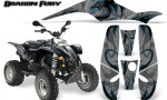 POLARIS Scrambler 500 Trailblazer 350 Graphics Kit Dragon Fury BlueIce Silver 150x90 - Polaris Scrambler Trailblazer 1985-2009 Graphics