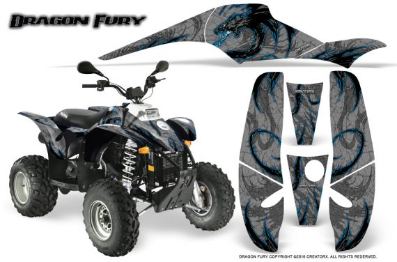 POLARIS Scrambler 500 Trailblazer 350 Graphics Kit Dragon Fury BlueIce Silver 570x376 - Polaris Scrambler Trailblazer 1985-2009 Graphics