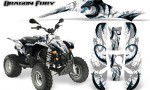 POLARIS Scrambler 500 Trailblazer 350 Graphics Kit Dragon Fury BlueIce White 150x90 - Polaris Scrambler Trailblazer 1985-2009 Graphics