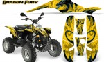 POLARIS Scrambler 500 Trailblazer 350 Graphics Kit Dragon Fury BlueIce Yellow 150x90 - Polaris Scrambler Trailblazer 1985-2009 Graphics