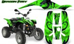 POLARIS Scrambler 500 Trailblazer 350 Graphics Kit Dragon Fury Blue Green 150x90 - Polaris Scrambler Trailblazer 1985-2009 Graphics