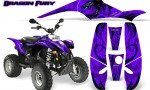 POLARIS Scrambler 500 Trailblazer 350 Graphics Kit Dragon Fury Blue Purple 150x90 - Polaris Scrambler Trailblazer 1985-2009 Graphics