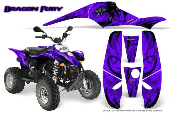 POLARIS Scrambler 500 Trailblazer 350 Graphics Kit Dragon Fury Blue Purple 570x376 - Polaris Scrambler Trailblazer 1985-2009 Graphics