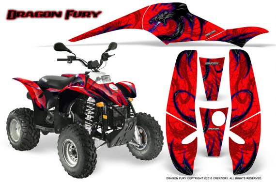 POLARIS Scrambler 500 Trailblazer 350 Graphics Kit Dragon Fury Blue Red 570x376 - Polaris Scrambler Trailblazer 1985-2009 Graphics