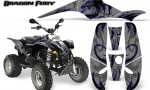 POLARIS Scrambler 500 Trailblazer 350 Graphics Kit Dragon Fury Blue Silver 150x90 - Polaris Scrambler Trailblazer 1985-2009 Graphics