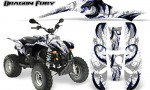 POLARIS Scrambler 500 Trailblazer 350 Graphics Kit Dragon Fury Blue White 150x90 - Polaris Scrambler Trailblazer 1985-2009 Graphics
