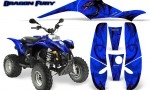 POLARIS Scrambler 500 Trailblazer 350 Graphics Kit Dragon Fury Purple Blue 150x90 - Polaris Scrambler Trailblazer 1985-2009 Graphics