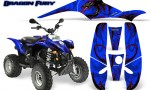 POLARIS Scrambler 500 Trailblazer 350 Graphics Kit Dragon Fury Red Blue 150x90 - Polaris Scrambler Trailblazer 1985-2009 Graphics