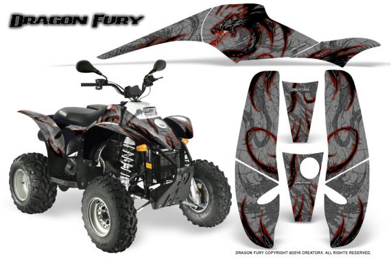 POLARIS Scrambler 500 Trailblazer 350 Graphics Kit Dragon Fury Red Silver 570x376 - Polaris Scrambler Trailblazer 1985-2009 Graphics