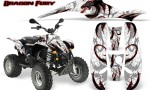 POLARIS Scrambler 500 Trailblazer 350 Graphics Kit Dragon Fury Red White 150x90 - Polaris Scrambler Trailblazer 1985-2009 Graphics