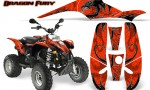 POLARIS Scrambler 500 Trailblazer 350 Graphics Kit Dragon Fury White Red 150x90 - Polaris Scrambler Trailblazer 1985-2009 Graphics