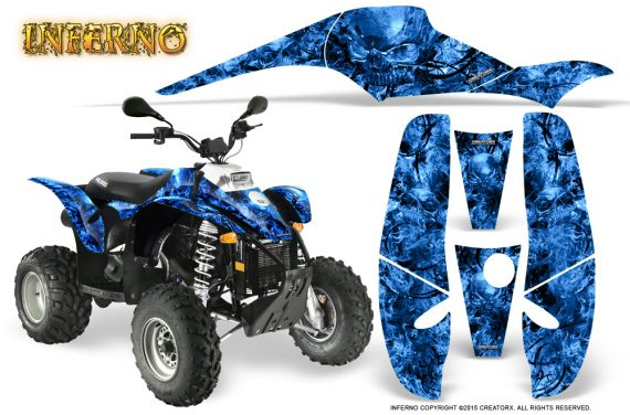 POLARIS Scrambler 500 Trailblazer 350 Graphics Kit Inferno Blue 570x376 - Polaris Scrambler Trailblazer 1985-2009 Graphics