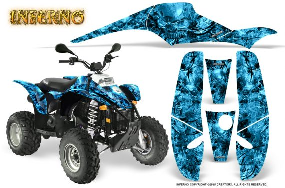 POLARIS Scrambler 500 Trailblazer 350 Graphics Kit Inferno BlueIce 570x376 - Polaris Scrambler Trailblazer 1985-2009 Graphics