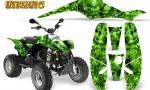 POLARIS Scrambler 500 Trailblazer 350 Graphics Kit Inferno Green 150x90 - Polaris Scrambler Trailblazer 1985-2009 Graphics