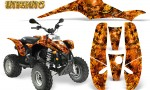 POLARIS Scrambler 500 Trailblazer 350 Graphics Kit Inferno Orange 150x90 - Polaris Scrambler Trailblazer 1985-2009 Graphics
