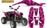 POLARIS Scrambler 500 Trailblazer 350 Graphics Kit Inferno Pink 150x90 - Polaris Scrambler Trailblazer 1985-2009 Graphics