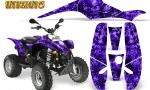 POLARIS Scrambler 500 Trailblazer 350 Graphics Kit Inferno Purple 150x90 - Polaris Scrambler Trailblazer 1985-2009 Graphics