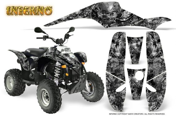 POLARIS Scrambler 500 Trailblazer 350 Graphics Kit Inferno Silver 570x376 - Polaris Scrambler Trailblazer 1985-2009 Graphics