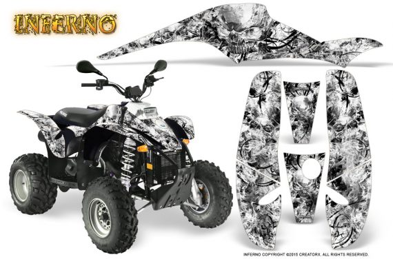 POLARIS Scrambler 500 Trailblazer 350 Graphics Kit Inferno White 570x376 - Polaris Scrambler Trailblazer 1985-2009 Graphics