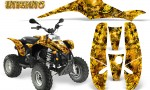 POLARIS Scrambler 500 Trailblazer 350 Graphics Kit Inferno Yellow 150x90 - Polaris Scrambler Trailblazer 1985-2009 Graphics
