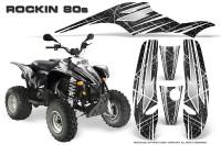POLARIS_Scrambler_500_Trailblazer_350_Graphics_Kit_Rockin80s_Black