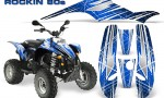 POLARIS Scrambler 500 Trailblazer 350 Graphics Kit Rockin80s Blue 150x90 - Polaris Scrambler Trailblazer 1985-2009 Graphics