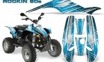 POLARIS Scrambler 500 Trailblazer 350 Graphics Kit Rockin80s BlueIce 150x90 - Polaris Scrambler Trailblazer 1985-2009 Graphics