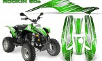 POLARIS Scrambler 500 Trailblazer 350 Graphics Kit Rockin80s Green 150x90 - Polaris Scrambler Trailblazer 1985-2009 Graphics