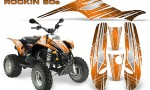 POLARIS Scrambler 500 Trailblazer 350 Graphics Kit Rockin80s Orange 150x90 - Polaris Scrambler Trailblazer 1985-2009 Graphics