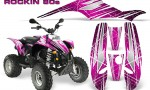 POLARIS Scrambler 500 Trailblazer 350 Graphics Kit Rockin80s Pink 150x90 - Polaris Scrambler Trailblazer 1985-2009 Graphics