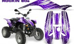 POLARIS Scrambler 500 Trailblazer 350 Graphics Kit Rockin80s Purple 150x90 - Polaris Scrambler Trailblazer 1985-2009 Graphics