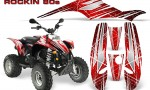 POLARIS Scrambler 500 Trailblazer 350 Graphics Kit Rockin80s Red 150x90 - Polaris Scrambler Trailblazer 1985-2009 Graphics