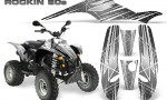 POLARIS Scrambler 500 Trailblazer 350 Graphics Kit Rockin80s Silver 150x90 - Polaris Scrambler Trailblazer 1985-2009 Graphics