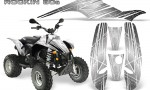 POLARIS Scrambler 500 Trailblazer 350 Graphics Kit Rockin80s White 150x90 - Polaris Scrambler Trailblazer 1985-2009 Graphics