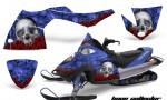 Polaris Fusion AMR Graphics Kit BC BL 150x90 - Polaris Fusion 2005-2007 Graphics