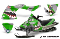 Polaris-Fusion-AMR-Graphics-Kit-WH-Green