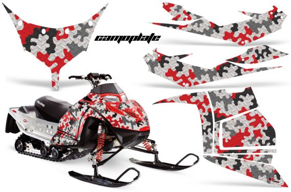 Polaris IQ Race AMR Graphic Kit RED Camoplate JPG 570x376 - Polaris IQ Race 600 Graphics