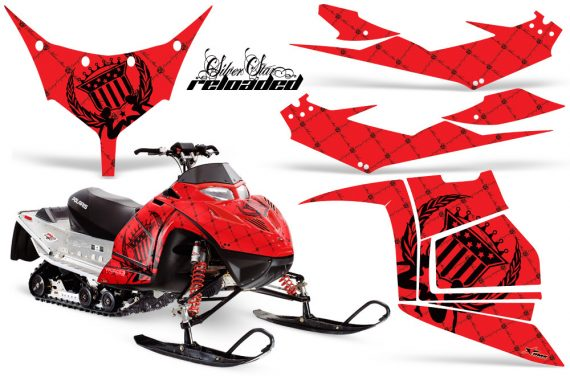 Polaris IQ Race AMR Graphic Kit RED Reloaded JPG 570x376 - Polaris IQ Race 600 Graphics