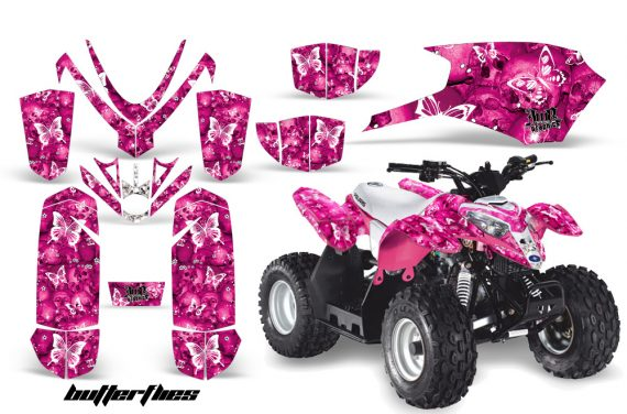 Polaris Outlaw 50 AMR Graphics Kit BF P1 570x376 - Polaris Predator 50 Graphics